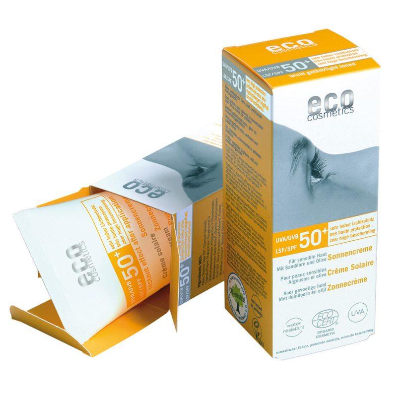 ECO COSMETICS органска крема за сончање SPF 50+