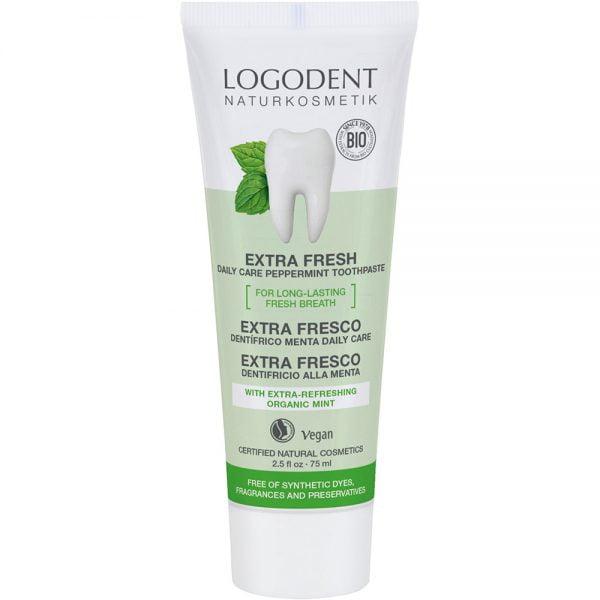 Logona органска паста за заби екстра фреш со органско нане