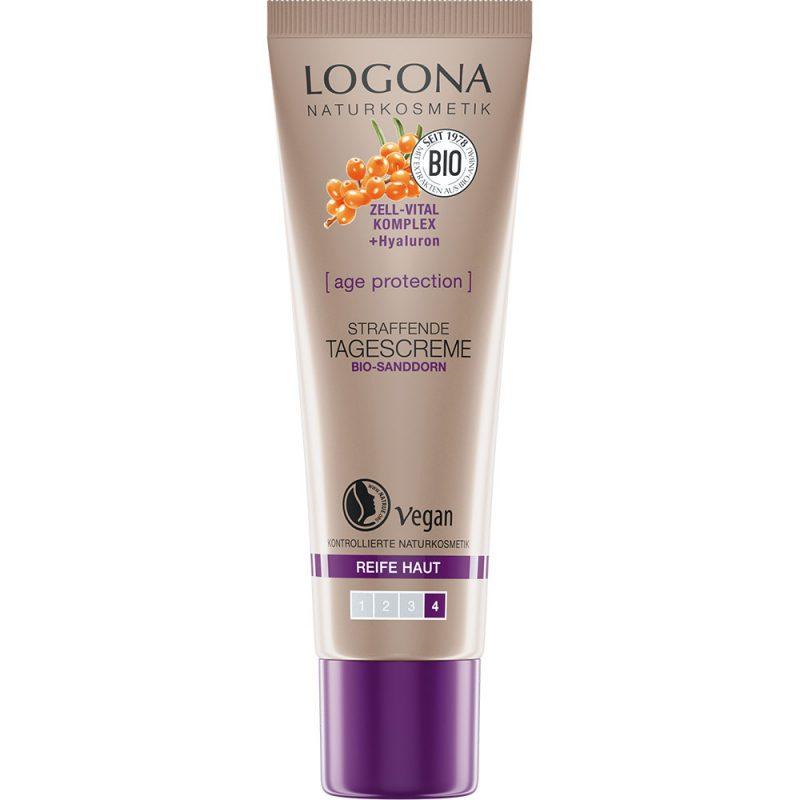 Logona аge protection за намалување на брчките. Oрганска дневна крема.