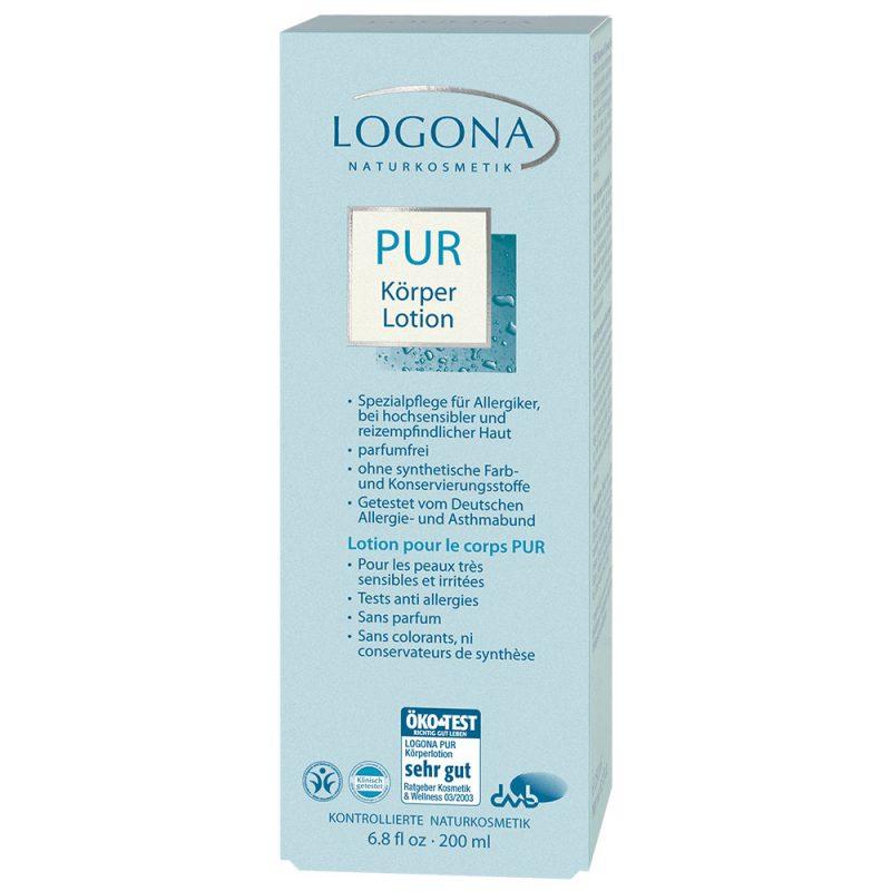 Logona органска нежна нега на много чувствителна кожа. Лосион за тело.