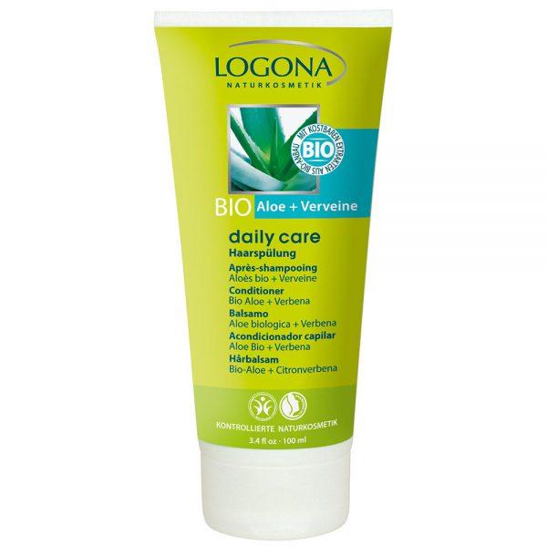 Logona органски регенератор за коса со органско алое и органска вербена