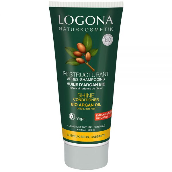 Logona органски регенератор за обновување и сјај на коса со органски арган