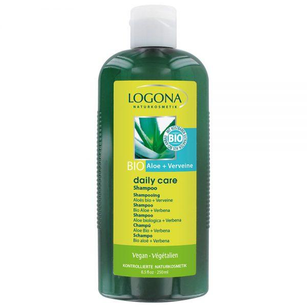 Logona органски шампон за коса со органско алое и органска вербена
