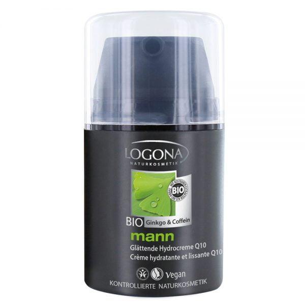 Logona органска измазнувачка хидратантна крема со Q10 за мажи