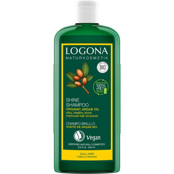 Шампон за обновување и сјај на коса со органски арган