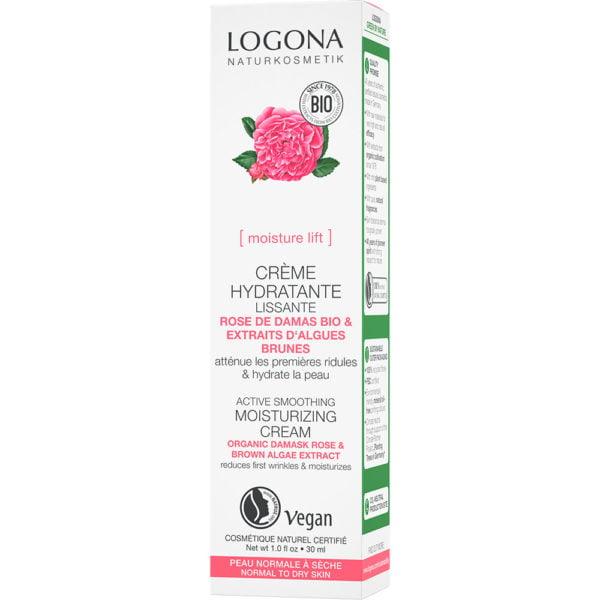 Дневна крема со органска роза-активна измазнувачка