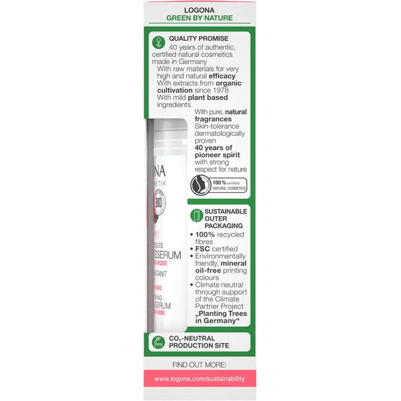 Серум со органска роза – активен измазнувачки хидратантен