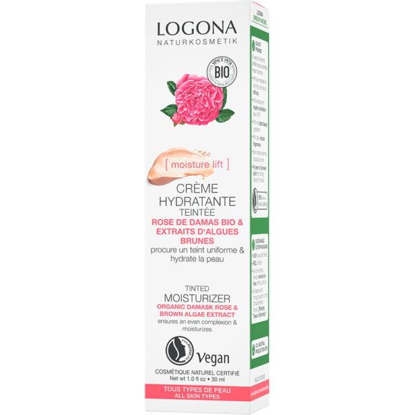 Тонирана хидратантна крема со органска роза